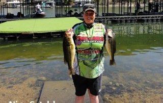 Bass tournament fishing