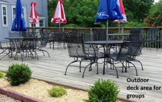 amenities - group deck