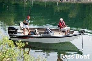 boat rental - bass boat